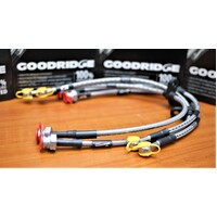 GOODRIDGE BRAIDED BRAKE LINE KIT HONDA S2000 AP1 99-09 F+R
